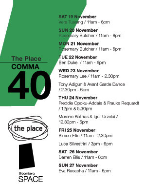 Comma40-the-place