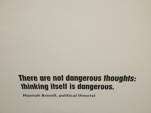 thinking is dangerous