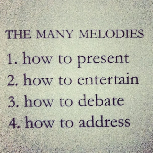 Many melodies 1/3